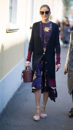 Olivia Palermo seen in the streets of Milan during during Milan Fashion Week Spring/Summer 2018 on September 22 2017 in Milan Italy