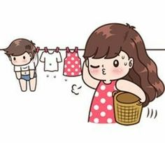 17 ideas funny cute couples girls for 2019 Cute Love Stories, Cute Cartoon Pictures, Cute Love Pictures, Cute Love Gif, Cute Chibi Couple, Love Cartoon Couple, Cute Couple Art, Cute Couples, Cute Love Cartoons