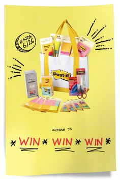 (Sponsored) As you're planning all the interactive, hands-on learning experiences you'll create when we're back at school, enter for a chance to win a prize pack full of goodies to help make lessons fun! You'll receive six sets of Post-it® Super Sticky Notes in various sizes, Post-it® Flags and Scotch™ Brand products, all in a fun reusable tote. [NO PURCHASE NECESSARY. Offer valid through 6/26/2020 for public, private, or home school teachers of Grs. K–6 in 50 US&DC.] Curriculum, Homeschool, Science Programs, Extra Credit, Future Jobs, Hands On Learning, Sticky Notes, Teaching Tools, School Teacher