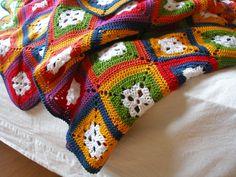 Crochet blanket afghan