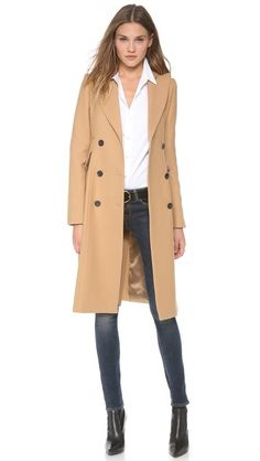 Gorgeous, perfect, timeless. SMYTHE Reefer Coat