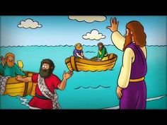 56 Jesus Chooses His Disciples Bible Activities For Kids, Bible Stories For Kids, Bible For Kids, Bible Lessons, Lessons For Kids, Preschool Boards, Bible Story Crafts, School Videos, Atonement