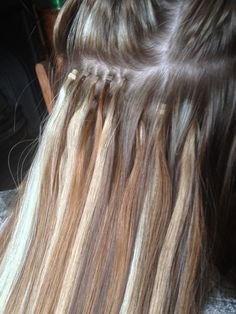 If you consider getting hair extensions look at these micro rings aheadofhairz micro loop 8 12 613 http solutioingenieria Choice Image