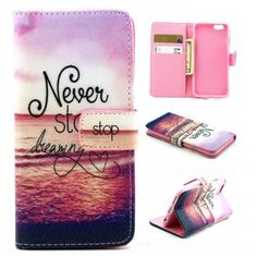 Apple iPhone 6s Flip Case Never Stop Dreaming