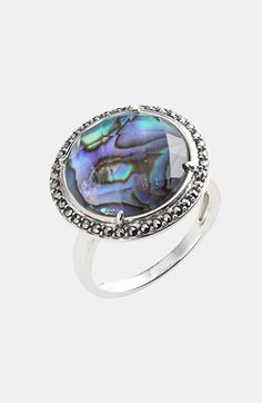 What a pretty ring.  @Lindsey Yarborough do you love??  Judith Jack 'Rock Candy' Stone Ring available at Nordstrom