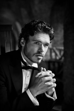 Richard Madden... better known as the utterly handsome Rob Stark, GOT.