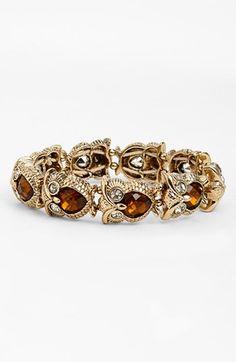 Anne Klein Owl Stretch Bracelet available at Owl Jewelry, Beaded Jewelry, Jewelry Box, Jewelery, Vintage Jewelry, Jewelry Accessories, Owl Clothes, Girls Necklaces, Stretch Bracelets