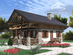 . House Outside Design, Country House Design, Chalet Design, Cabin Homes, Log Homes, Style At Home, Filipino House, Colorado Homes, Cottage Style Homes