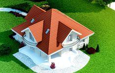 PROJEKAT KUĆE MASIGLA – Recepti na brzinu House Doors, Facade House, Home Building Design, Building A House, Bungalow Style House, Casas Country, Modern Tv Room, House Design Pictures, House Construction Plan