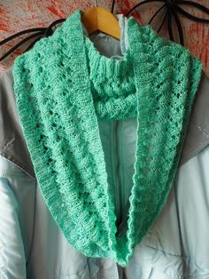 Free Pattern: Project Gallery for Malina Loop pattern by Barbara Widmer. Follow 'About this Pattern' on right for link to pattern.