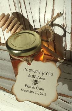 24 Qty So Sweet Of You To Bee Here Honey Wedding by holyhoney