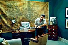 David Gandy Shares Home with London Evening Standard image David Gandy Home Study