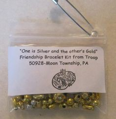 Friendship Song ~ One is silver the Other Gold SWAPS