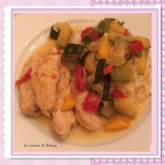 Voici une fois de plus une recette Cookeo . Une poêlée de légumes accompagnée d'aiguillettes de poulet bien tendre et servie avec du riz blanc. Un délice ! ! ! ! La recette étant relativement light j'ai calculé les points pour les personnes qui suivent...