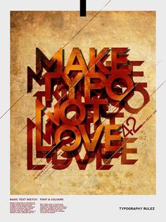 Make Typo Not Love