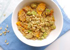 Skinny Six: Couscous met zoete aardappel en avocado