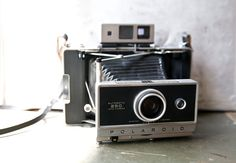 Vintage Polaroid 250 Land Camera with Case & Accessories by ReneeVintage