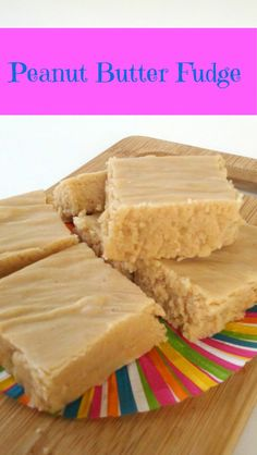 Decadent and smooth peanut butter fudge tastes exactly like the holidays. Be Awesome and ShareEmailLike this:Like Loading. Köstliche Desserts, Delicious Desserts, Yummy Food, Holiday Desserts, Fudge Recipes, Candy Recipes, Caramel Recipes, Bread Recipes, Yummy Recipes