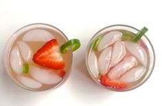 Tito's Strawberry & Jalapeno Lemonade from The Modern Day Girlfriend   In a glass, combine 1.5 oz of Tito's Handmade Vodka, half of a small jalapeño thinly sliced, and 1-2 large organic sliced strawberries. Stir together and let sit for about a minute. After it is incorporated, add ice and top off with your favorite lemonade. Stir well and enjoy!