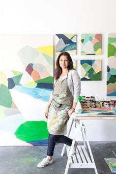 The beautiful work of NSW based artist Belynda Henry, our next TDF Collect artist!  Photo - Rachel Kara for thedesignfiles.net