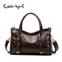 Cobbler Legend Original Genuine Leather Women Shoulder Bags 2017 New Leisure Trend Ladies Crossbody Bag For Womens Handbag (32786561590)  SEE MORE  #SuperDeals