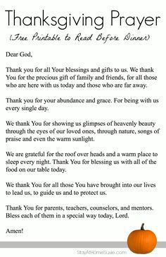 a prayer for thanksgiving - Bing Images