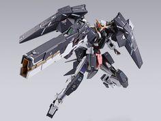 「METAL BUILD 力天使鋼彈 修復型III」07月發售 十周年新機首度立體化! | 玩具人Toy People News Gundam Exia, Gundam 00, Shoulder Armor, Dynamic Poses, Gundam Model, Real Style, Mobile Suit, Concept Art, Building