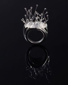 Su Xuejiao, Ring, 2012 Fountainhead Series Ⅰ, 2012 Sterling silver - China Academy of Art