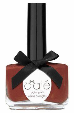 Ciaté 'Sugar Plum' Paint Pot available at Ciate Nail Polish, Nail Polish Brands, Nail Polishes, Mocha, Plum Paint, Nordstrom, Glitter Makeup, Sparkly Makeup, Glitter Paint