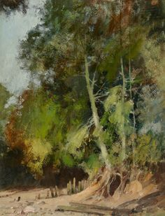 Edward Seago   On the Banks of the Orwell