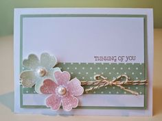 Stampin' Up! Flower Shop & Pansy Punch