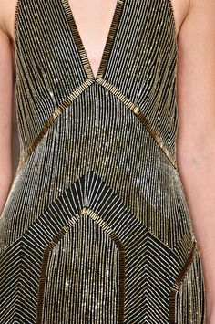 Ralph Lauren FW 2012, gorgeous, reminds me of the Chrysler Building.