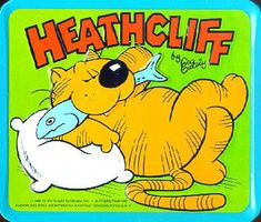 Heathcliff...totally forgot about this cat!