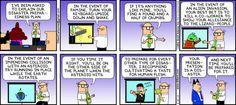 Oh Dilbert! How you make me laugh...