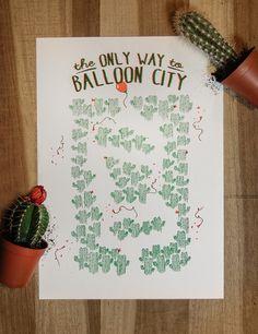 Balloon City on Behance