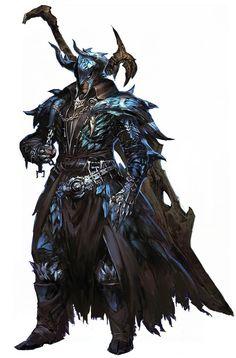 La armadura feral o armadura de los bosques de Keledon, con ella puesta se convierte en un fiero avatar, en la furia de la naturaleza personificada.