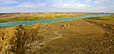 rio eufrates esta secando o rio eufrates e um dos rios que formam a ...