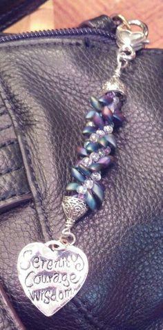 Kumihimo zipper pull