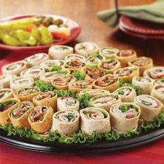 H-E-B Wraps Party Tray is one of our top sellers and would make Super Bowl  watching