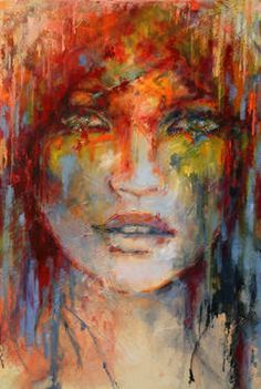 "Saatchi Art Artist Evelyn Hamilton; Painting, ""Miss You"" #art"