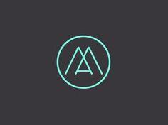 logo am 20 Amazing Monogram Designs