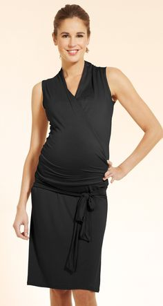 6c8b3d8fe2 La robe de maternité Lady est très glamour avec son drapé et sa .