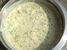 Recipe Schnittlauchsauce mit Eiern by learn to make this recipe easily in your kitchen machine and discover other Thermomix recipes in Saucen/Dips/Brotaufstriche. Grilling Recipes, Veggie Recipes, Low Carb Recipes, Chutneys, Nutritional Value Of Spinach, Spinach Soup, Sauces, Sauce Recipes, Yummy Food