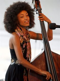 Esperanza Spalding.  A gifted, beautiful person, inside and out.