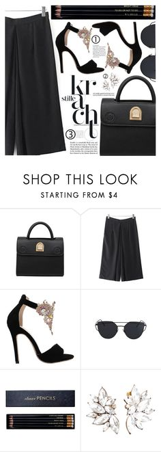 """Office Chic"" by pastelneon ❤ liked on Polyvore featuring Sloane Stationery"
