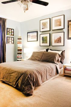 Jenny & Collin's Bold Mix of Books & Media House Tour | Apartment Therapy