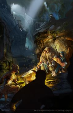 """""""The Hobbit"""" by Alex Levielle, a current student at ringling College of Art and Design.   Just...amazing! Would be such a nice addition to the current selection of work at the madeby Gallery in Sarasota, FL."""
