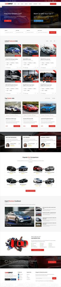 Engines - Automotive, Car Dealer, Vehicle, Dealership, Classifieds - car ad template