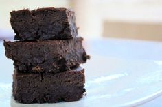 Brownies! (Coconut oil instead of earth balance butter)