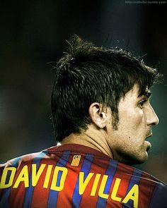 David Villa - Missed him at Euro 2012